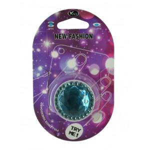 Pop Βάση Κινητού Strass Diamond Γαλάζιο 25644