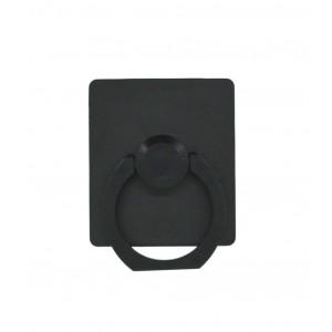 Βάση Στήριξης Γραφείου 360° Rotating Ring Πλαστικό για Κινητά Τηλέφωνα Μαύρο 3.5 x 4 cm 25694
