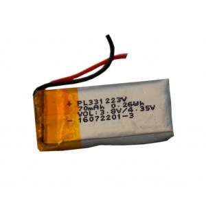 Μπαταρία για Bluetooth Hands Free 70mAh 1 x 2 cm Συμβατό με Nokia BH-110 25697
