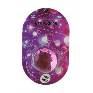 Pop Βάση Κινητού Crystal Diamond Ροζ 25703
