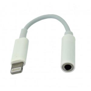 Αντάπτορας Handsfree Apple Lightning σε 3.5 mm Θηλυκό Λευκό Bulk 25927