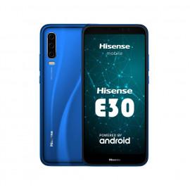 Hisense Ε30 4G LTE  (Dual SIM) 5.99 HD+ 2,5D Octa-Core 2GB/32GB Μπλε με Δώρο Θήκη και Tempered Glass 27034