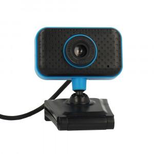 USB Webcam PC C11 Full HD 720p Μαύρo-Μπλέ με Ενσωματωμένο Μικρόφωνο Plug and Play Hi Speed Usb 2.0 29378