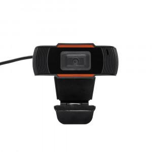 USB Webcam Mobilis S10 HD με Ενσωματωμένο Μικρόφωνο 3.5mm Μαύρη-Κόκκινη 29868