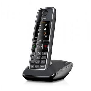 Ασύρματο Ψηφιακό Τηλέφωνο Gigaset C530 Μαύρο με Υποδοχή Hands Free 4250366835068