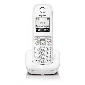 Ασύρματο Ψηφιακό Τηλέφωνο Gigaset AS405 Λευκό 4250366837888