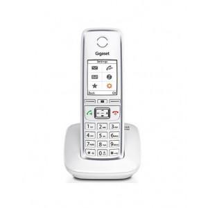 Ασύρματο Ψηφιακό Τηλέφωνο Gigaset C530 Λευκό με Υποδοχή Hands Free 4250366837901