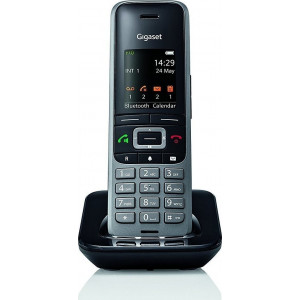 Ασύρματο Ψηφιακό Τηλέφωνο Gigaset S650 H Pro Μαύρο με Bluetooth και Υποδοχή Hands Free 2.5mm 4250366842646