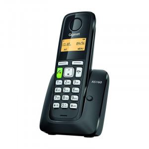 Ασύρματο Ψηφιακό Τηλέφωνο Gigaset AS160 Μαύρο 4250366845364
