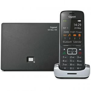Ασύρματο Ψηφιακό Τηλέφωνο Gigaset SL450 Μαύρο - Ασημί  με Μεταλλική  Κατασκευή, Bluetooth και Micro USB 4250366850320