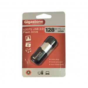 USB 2.0 Gigastone Flash Drive U207S 128GB Μαύρο Velvet Frame 4710405852666