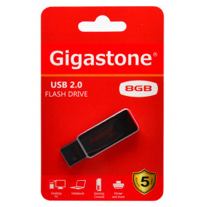 USB 2.0 Gigastone Flash Drive U201 Traveler 8GB 4716814073517