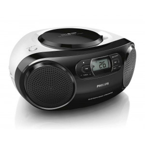 Philips USB MP3-CD Soundmachine AZ330T/12 4W Black with Bluetooth, USB Port and Audio-in 4895185604169
