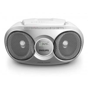 Φορητό Ράδιο CD Philips AZ215S/12 Ασημί 4895185615806
