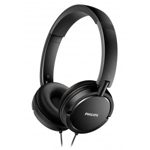 Philips Stereo Headphone On-Ear SHL5000/00 3.5 mm Black for mp3, mp4 and sound devices 4895185623658