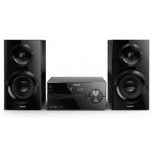 Ηχοσύστημα Micro Philips 70W BTM2560/12 Μαύρο με MP3 Link,USB Θύρα και Bluetooth 4895185630236