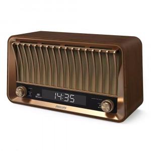 Φορητό Ηχείο/Ραδιόφωνο Bluetooth Philips TAVS700/10 DAB+ 20W RMS Stereo Vintage Design με Bass Reflex 4895229101296
