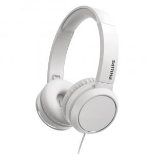 Ακουστικά Stereo Philips On-Ear Stereo 3.5mm TAH4105WT/00 Λευκό με Μικρόφωνο, Πλήκτρο Απάντησης 4895229110250