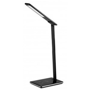 Desktop LED Lamp Jabees Q9 with Wireless Charger, Brightness & Color Temperature Adjustable Black 4897042101941