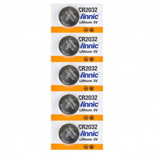 Buttoncell Vinnic CR2032 3V Τεμ. 5 4898338001211
