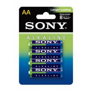Μπαταρία Αλκαλική Sony Longer Lasting LR6 size AA 1.5 V Τεμ. 4 4901660143242