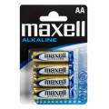 Battery Alkaline Maxell LR6 size AA 1.5 V Psc. 4 4902580163761