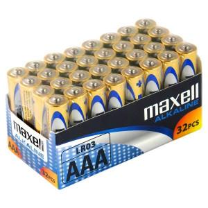 Μπαταρία Αλκαλική Maxell LR03 size AAA 1.5 V Τεμ. 32 4902580731298