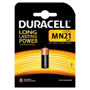 Μπαταρία Αλκαλική Duracell Long Lasting Power MN21 size A23/E23A/GP23A/LRV08/MN21/V23GA/8LR93212 V Τεμ. 1 5000394011212