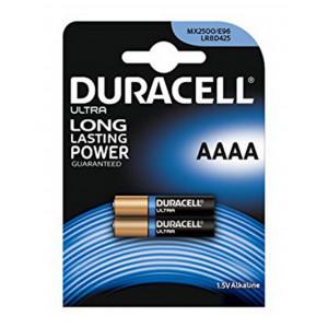 Μπαταρία Αλκαλική Duracell Long Lasting LR8D425 / MX2500 size AAAA Τεμ. 2 5000394041660
