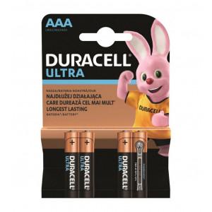 Μπαταρία Αλκαλική Duracell Ultra LR03 / MX2400 size AAA Τεμ. 4 5000394062931