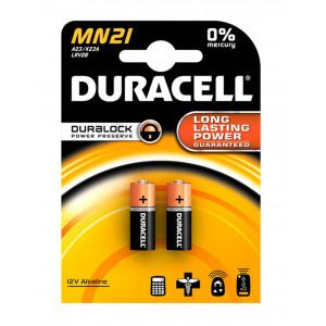 Μπαταρία Αλκαλική Duracell MN21 size 23A/V23GA/LRV08/8LR932 12V Τεμ. 2 5000394071117