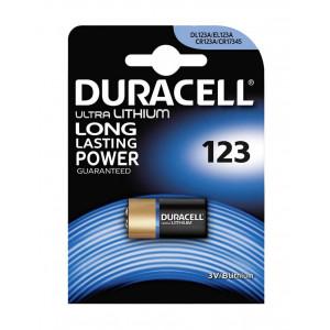 Μπαταρία Lithium Ultra Photo Duracell CR123A 3V Τεμ. 1 5000394123106
