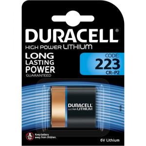 Μπαταρία Lithium Ultra Photo Duracell CR-P2 6V DL223/EL223AP Τεμ. 1 5000394223103