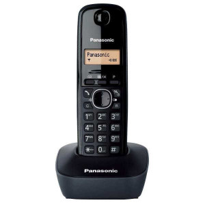 Dect/Gap Panasonic KX-TG1611GRH Black 5025232621552