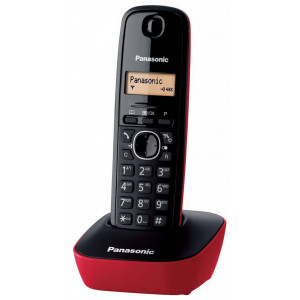 Dect/Gap Panasonic KX-TG1611 (EU) Black-Red 5025232621606