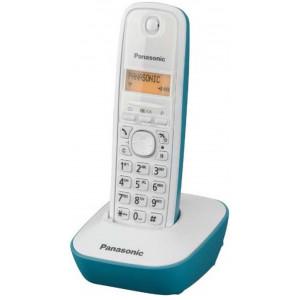 Dect/Gap Panasonic KX-TG1611GRC White-Turquoise 5025232624867