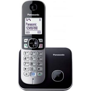 Ασύρματο Ψηφιακό Τηλέφωνο Panasonic KX-TG6811 (EU) Μαύρο με Λειτουργία ECO 5025232675340