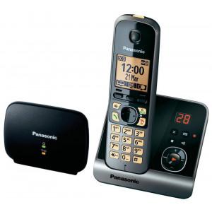 Dect/Gap Panasonic KX-TG6761GB (EU) Long Range Silver - Black with Repeater, Anwering Machine 5025232703913
