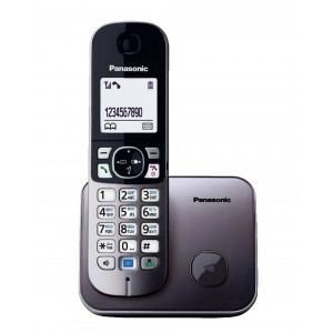 Dect/Gap Panasonic KX-TG6811 Silver GRM with Power Back-Up Operation and ECO mode 5025232730568