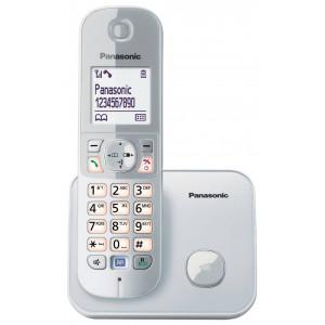 Ασύρματο Ψηφιακό Τηλέφωνο Panasonic KX-TG6811 (EU) Ασημί με Λειτουργία ECO 5025232741069