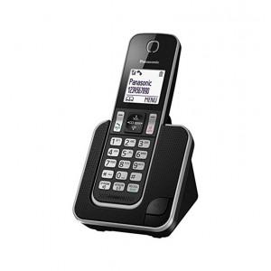 Ασύρματο Ψηφιακό Τηλέφωνο Panasonic KX-TGD310JTΒ  Μαύρο 5025232765232