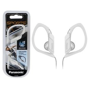 Ακουστικά Panasonic RP-HS34E-W 3.5mm IPX2 Λευκά με Ρυθμιζόμενο Κλιπ για mp3, iPod και Συσκευές Ήχου χωρίς Μικρόφωνο 5025232768042