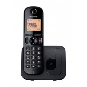 Dect/Gap Panasonic KX-TGC210GRB Black with Speakerphone, Call Block and Eco Function 5025232784714