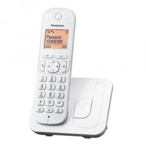 Dect/Gap Panasonic KX-TGC210GRW White with Speakerphone, Call Block and Eco Function 5025232797400