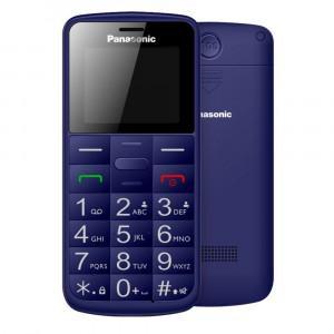 Panasonic KX-TU110EXC (Dual SIM) Μπλε 1.77 Easy Phone με πλήκτρο SOS, Bluetooth και Μεγάλα Γράμματα 5025232891863