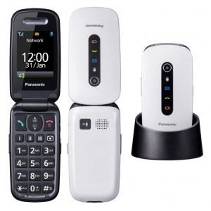 Panasonic KX-TU466 EXWE Λευκό 2.4 με MicroSD, Bluetooth, Κάμερα, Μεγάλα Γράμματα και Πλήκτρο SOS και Λειτουργία Εντοπισμου Mεσω GPS 5025232894529