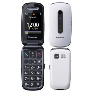 Panasonic KX-TU456 EXWE Λευκό 2.4 με MicroSD, Bluetooth, Κάμερα και  Μεγάλα Κουμπιά 5025232894727