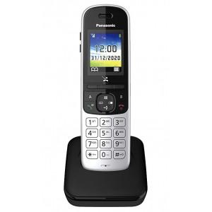 Ασύρματο Ψηφιακό Τηλέφωνο Panasonic KX-TGH710JTS Ασημί με Έγχρωμη Οθόνη 1,8' 5025232894956