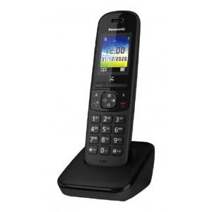 Ασύρματο Ψηφιακό Τηλέφωνο Panasonic KX-TGH710JTB Μαύρο με Έγχρωμη Οθόνη 1,8' 5025232898671