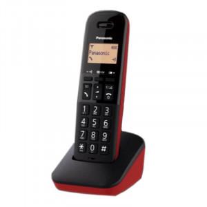 Ασύρματο Ψηφιακό Τηλέφωνο Panasonic KX-TGB610JTR Μαύρο - Κόκκινο 5025232939848